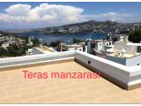 bodrum gündoğan da deniz manzaralı masarfsız 120 m2 villa nakit satılık