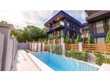 denizli de havuzlu 4 katlı havuzlu sosyal tesisli manzaralı ultra lüx villalar